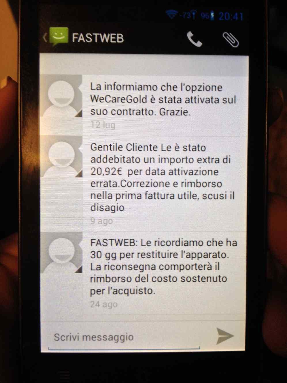 fastweb-modem